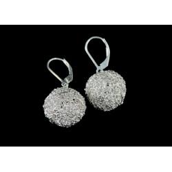 Boucles d'oreille Perles filigranes Argent 999